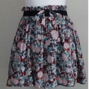 Gracia Floral Skater Skirt